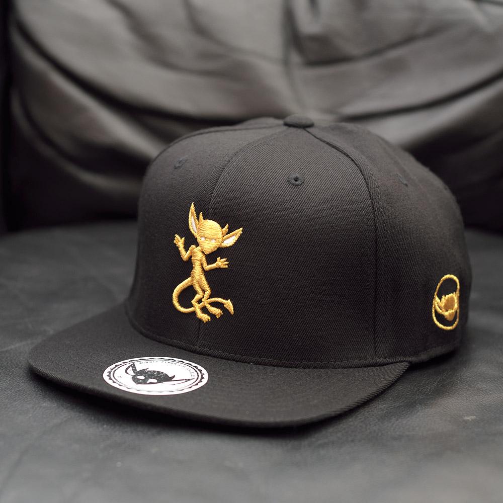 MORBID FIBER LA Streetwear Clothin Headwear Limited Golden IMP Snapback Hat