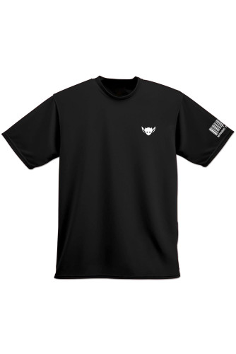 Morbid Fiber LA Clothing Streetwear Fashion White IMP Black T-shirt