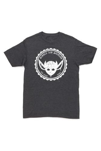 MORBID Los Angeles Clothing-Streetwear- Grunge Fashion Navy tshirt