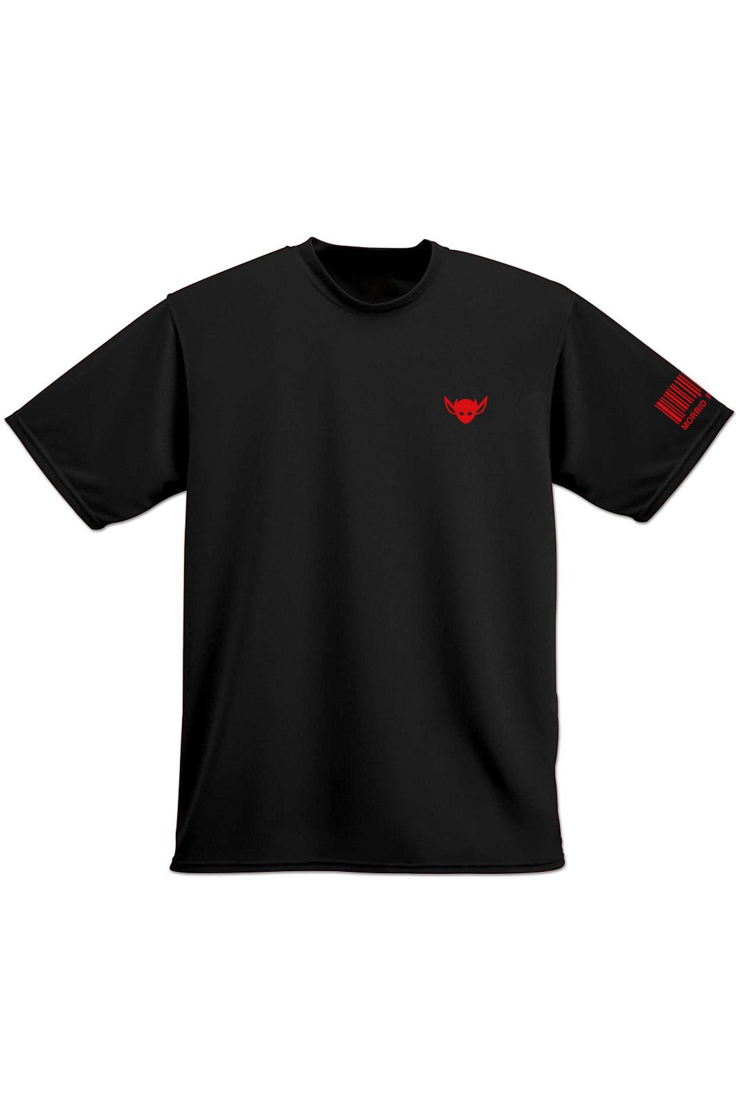 Morbid Fiber LA Clothing Streetwear Fashion IMP T-shirt Black