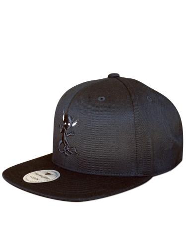 Morbid Fiber Los Angeles Streetwear Black IMP Snapback