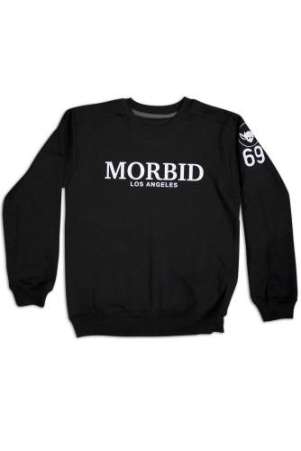 Morbid Fiber Los Angeles Streetwear Clothing Crew Sweater