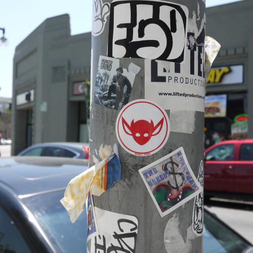 Morbid Fiber Los Angeles Streetwear IMP Logo Streetart