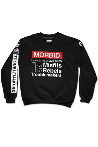 Morbid Fiber Los Angeles Clothing Streetwear Troublemakers-Sweater