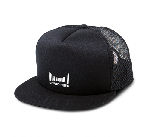 Morbid Fiber Streetwear M-Barcode Trucker Hat