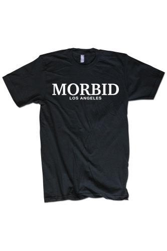 Morbid LA Clothing Streetwear Black Fancy T-shirt