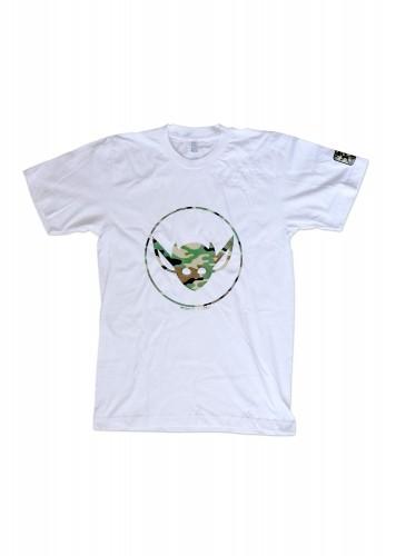 White Camo IMP Logo Tee